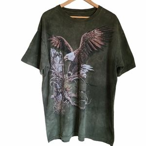the mountain find 12 eagles tshirt size XL
